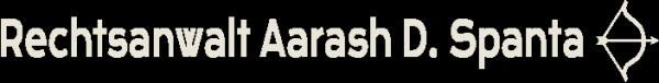 Rechtsanwalt Aarash D. Spanta Logo